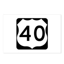 US Route 40 Postcards (Package of 8)