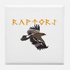 RAPTORS MASCOT Tile Coaster