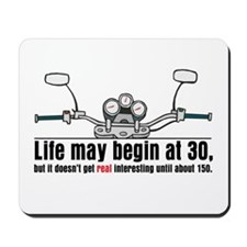 Motorcycle Life Mousepad