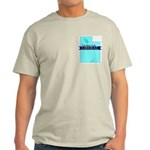 Ash Gray T-Shirt for a True Blue Utah LIBERAL