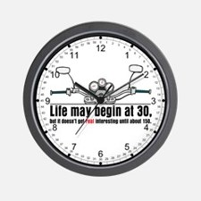 Motorcycle Life Wall Clock