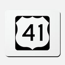 US Route 41 Mousepad