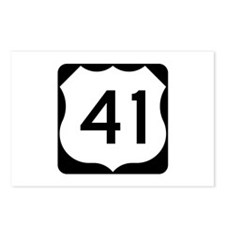 US Route 41 Postcards (Package of 8)