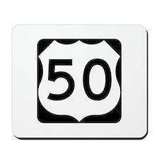 US Route 50 Mousepad