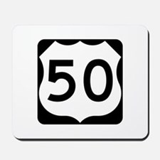 US Route 50 Mousepad