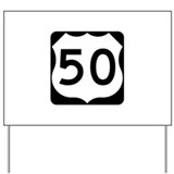 50 road Yard Signs