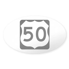 US Route 50 Decal