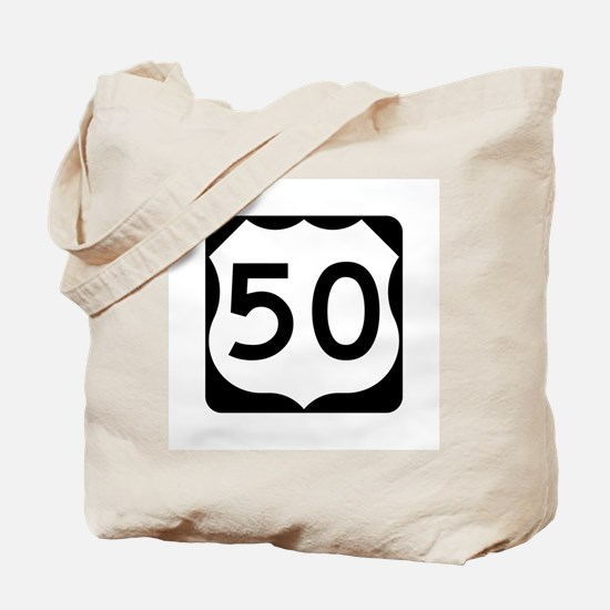 US Route 50 Tote Bag