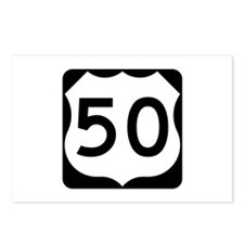 US Route 50 Postcards (Package of 8)