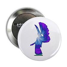 "Blue Rainbow Angel 2.25"" Button (10 pack)"