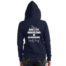 Custom Family Thing Women's Zip Hoodie