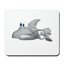 Silly Shark Mousepad