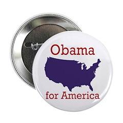 Obama for America Button