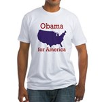 Obama for America Fitted T-Shirt