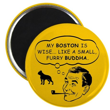 Boston Spiritual Leader Magnet
