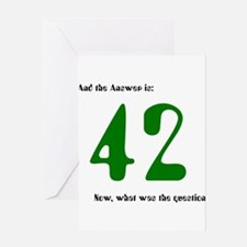 Cute Hitchhikers guide to the galaxy Greeting Card
