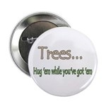 Tree Hugging Button