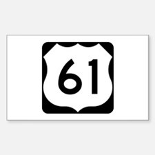 US Route 61 Decal