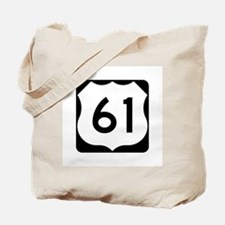 US Route 61 Tote Bag