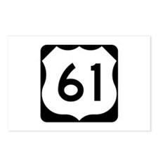 US Route 61 Postcards (Package of 8)
