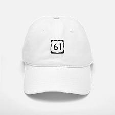 US Route 61 Baseball Baseball Cap