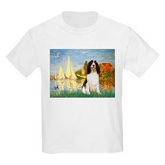 Sailboats & Springer T-Shirt