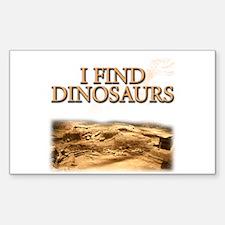 Dinosaurs Rectangle Decal