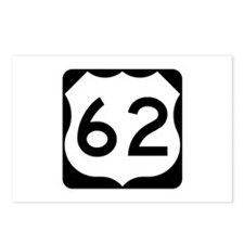 US Route 62 Postcards (Package of 8)