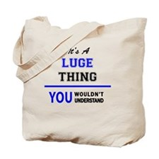 Cute Luge Tote Bag