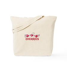 CHERRIES BORDER Tote Bag