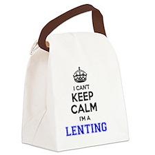 Lent Canvas Lunch Bag