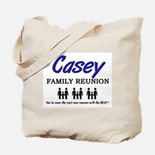 Casey Family Reunion Tote Bag