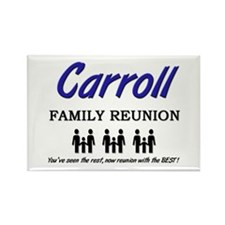 Carroll Family Reunion Rectangle Magnet (10 pack)