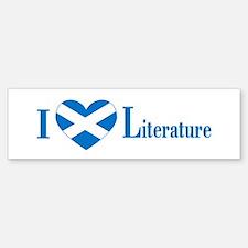 Scottish Literature Bumper Bumper Bumper Sticker