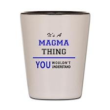 Unique Magma Shot Glass