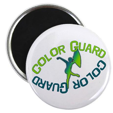 Color Guard Magnet