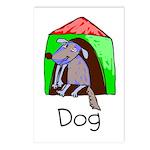Kid Art Dog Postcards (Package of 8)