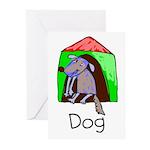 Kid Art Dog Greeting Cards (Pk of 10)