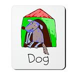 Kid Art Dog Mousepad