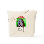 Kid Art Dog Tote Bag