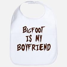 Bigfoot Is My Boyfriend Bib