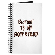 Bigfoot Is My Boyfriend Journal