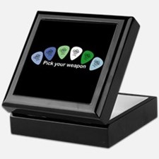 Cute Guitar picks Keepsake Box