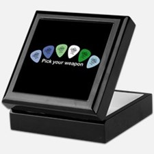 Unique Guitar pick Keepsake Box