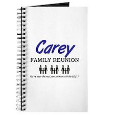 Carey Family Reunion Journal