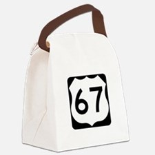 US Route 67 Canvas Lunch Bag