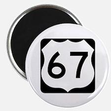 US Route 67 Magnet