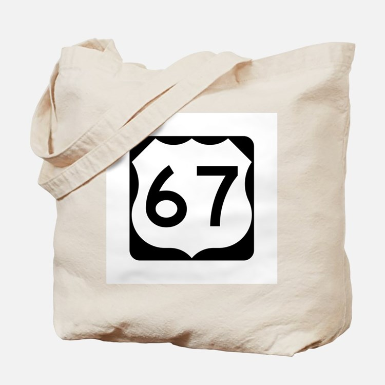 US Route 67 Tote Bag