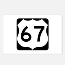 US Route 67 Postcards (Package of 8)