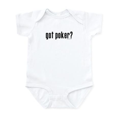 got poker? Infant Bodysuit